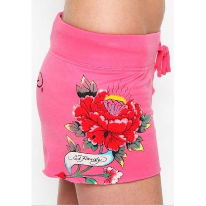 Women's Ed Hardy Shorts s001 cheap