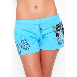Women's Ed Hardy Geisha Specialty Shorts