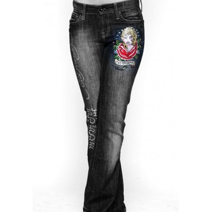 Women's Ed Hardy Jeans ED13