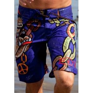 Men's Ed Hardy Gangsta Bully Board Shorts