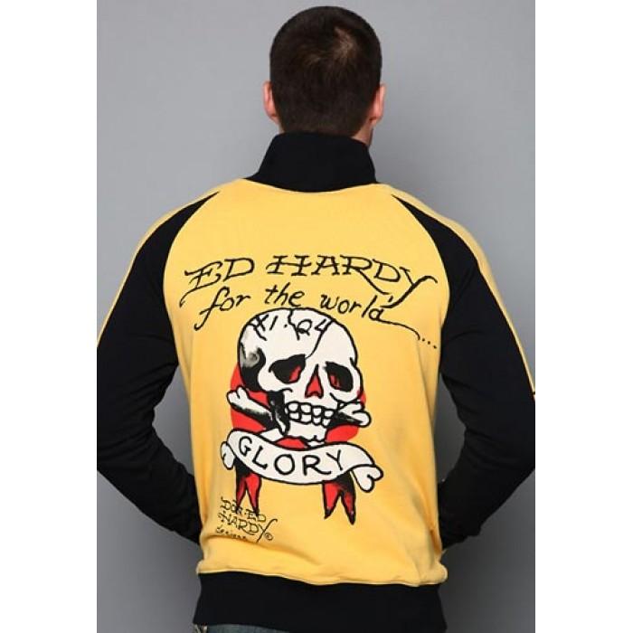 Ed Hardy Death Or Glory Track Jacket
