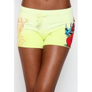 Women's Ed Hardy Three Hearts Specialty Shorts