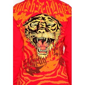 Women's Ed Hardy New Tiger Specialty Hoody