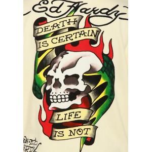 Ed Hardy Death Is Certain Basic Hoody