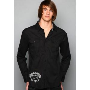 Ed Hardy Polo Shirt Love Kills Slowly Skull Wing Embroidered Shirt Buy