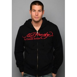Ed Hardy Death Of Love And Tiger Basic Hoody Buy