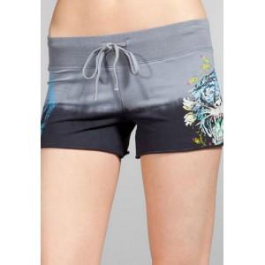 Women's Ed Hardy Shorts Grey s001 sale