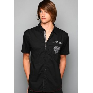 Ed Hardy Polo Shirt EH Tiger Signature Embroidered Shirt 02